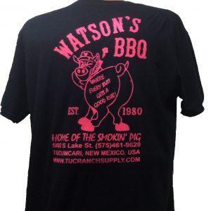 Watson's Back T Shirt