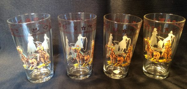 Cowboy Glass Set