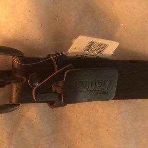 Hooey Belt Bomer Black