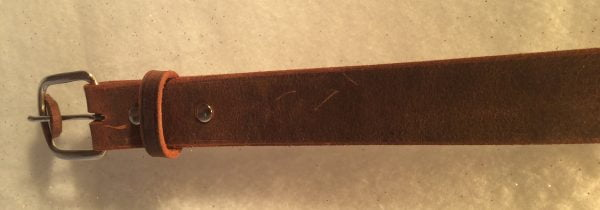 Amish Brown Belt