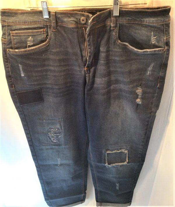 L&B Patch Plus Size Jeans