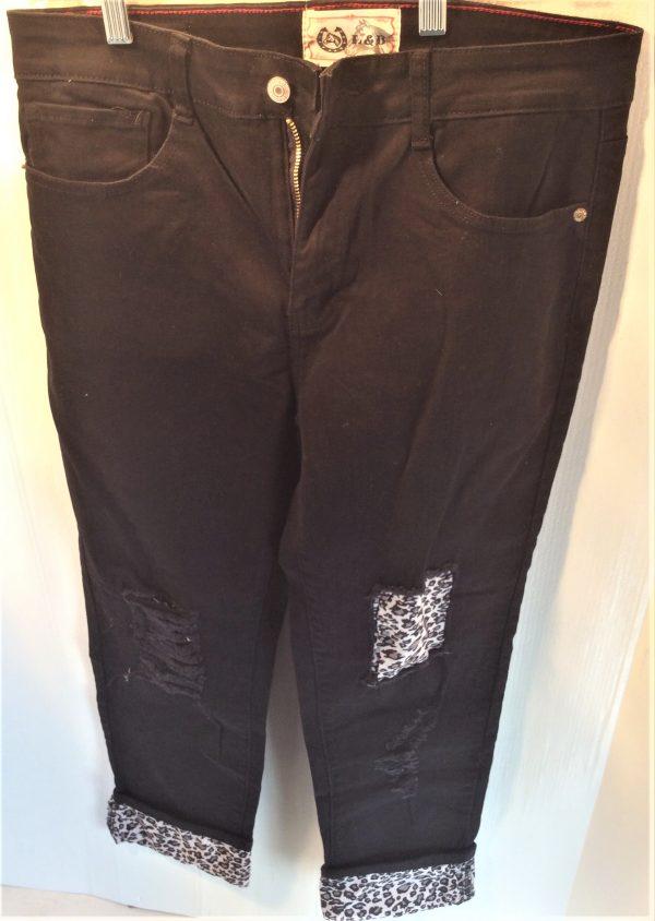 L&B Black Jeans LB-401
