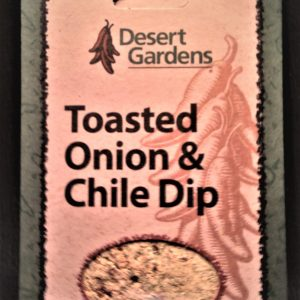 Desert Gardens Toasted Onion and Chile Dip