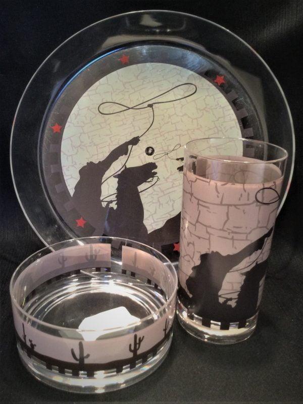 Western Plastic Houseware Set