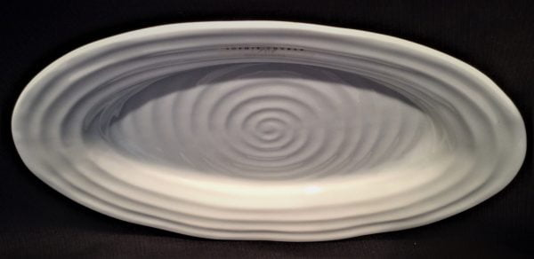 Swirl China Platter