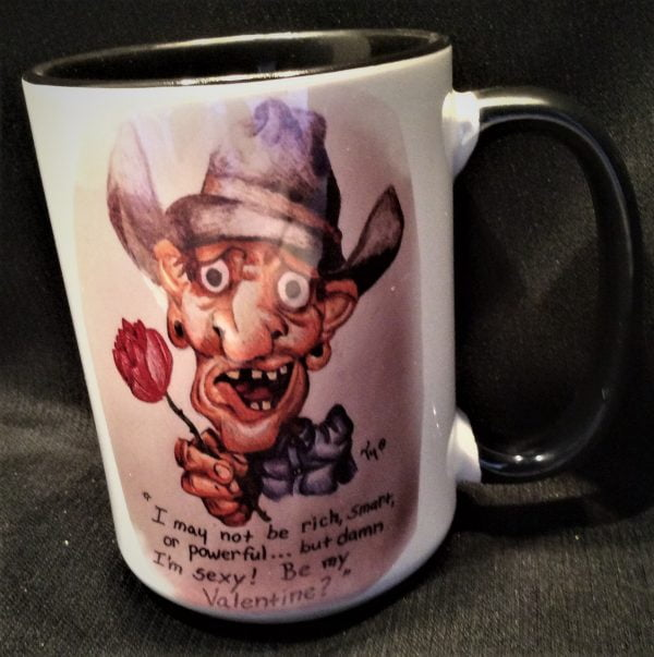 Cowboy Valentine Coffee Mug