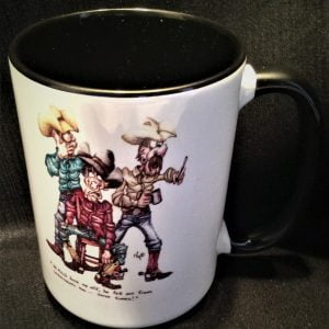 Cowboy Buck Me Off Coffee Mug