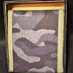 MS Men's Canvas Camo Wallet