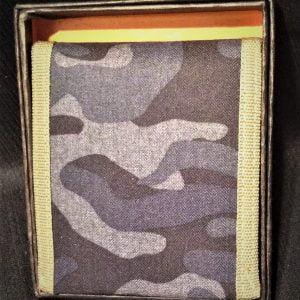 MS Men's Canvas Camo Wallet