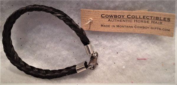Authentic Black Horse Hair Bracelet