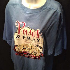 Cherished Girl Paws & Pray T-Shirt