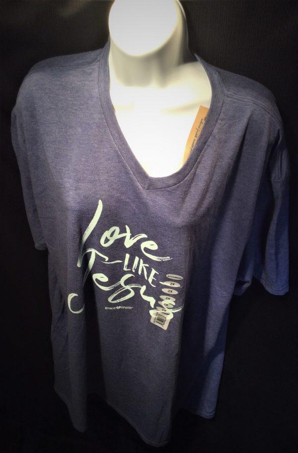 Grace Truth Love Like Jesus T-Shirt