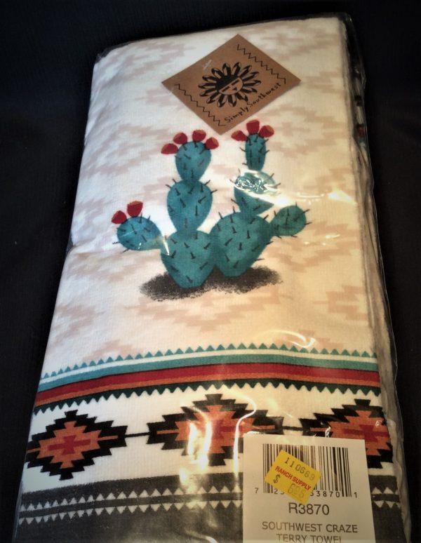 Southwest Craze Terry Towel