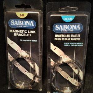 Sabona Magnetic Link Bracelet