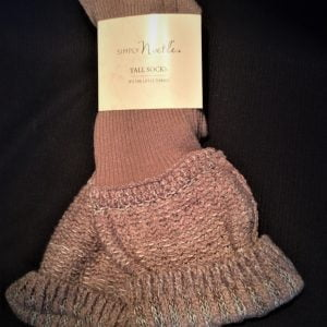 Simply Noelle Tall Socks Truffle