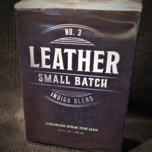 No. 3 Leather Small Batch Indigo Blend