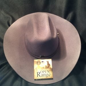 Open Range Cowboy Hat Grey